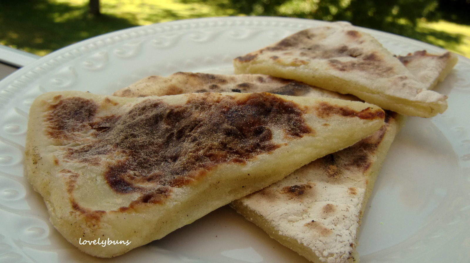 Tattie scones can be enjoyed on their own with a topping such as ...