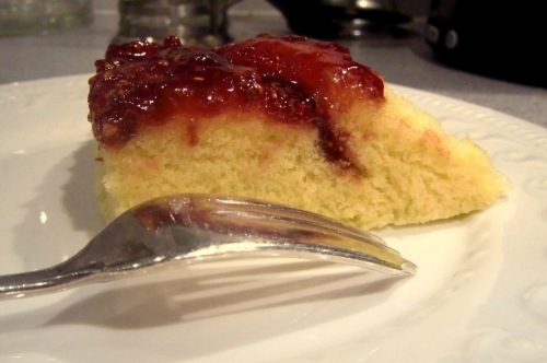 ~5 minute jam sponge pudding~