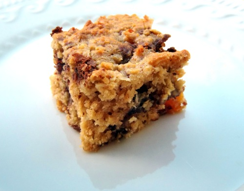 ~ chocolate chip and oat slice ~